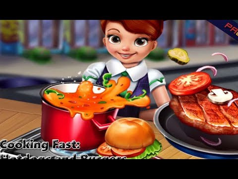 Cooking Fast: Hotdogs And Burgers Full Gameplay Walkthrough