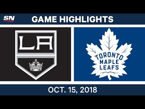 NHL Highlights | Kings vs. Maple Leafs - Oct. 15, 2018
