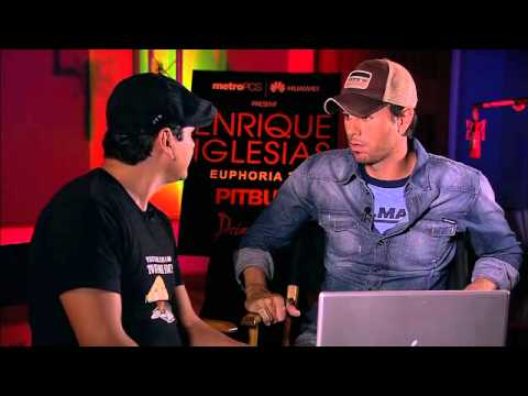 Livestream Facebook Chat with Enrique Iglesias