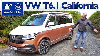 2020 Volkswagen T6.1 California Ocean 199 PS FWD - Kaufberatung, Test deutsch, Review, Fahrbericht