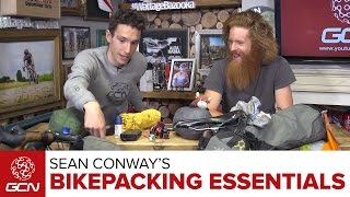 Bikepacking Essentials With Sean Conway | What To Take Bikepacking