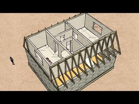 Мансарда Ч.3 - Конструктив и планировка