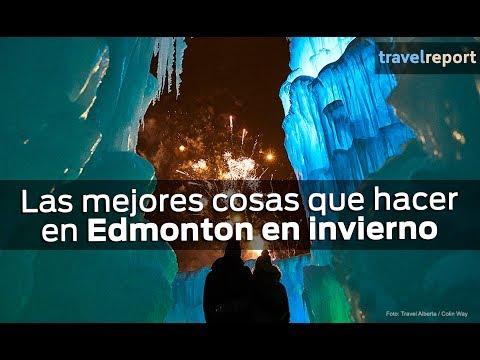 Qué hacer en Edmonton en invierno