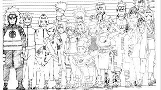 Naruto Shippuden character setting, by Takamura Store