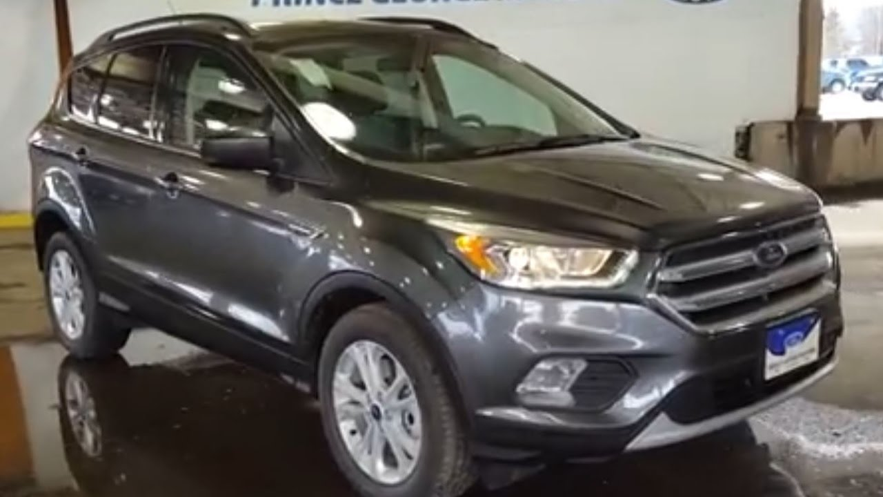 2017 ford escape se 4wd review prince george motors youtube. Black Bedroom Furniture Sets. Home Design Ideas