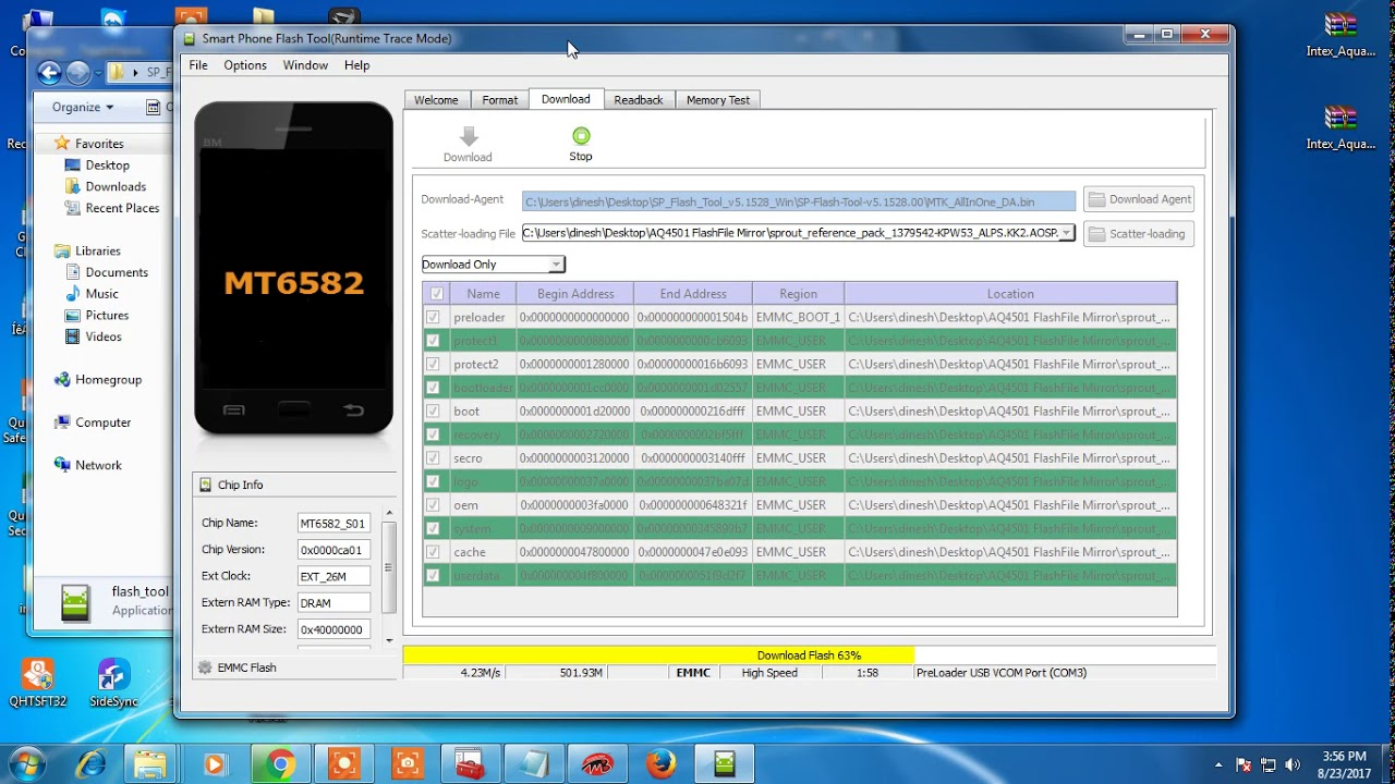 MICROMAX AQ4501 DEAD AFTER FLASH 100% TESTED SOLUTION BY