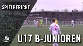 Borussia Dortmund - 1. FC Köln (U17 B-Junioren, Bundesliga West) - Spielbericht   RUHRKICK.TV