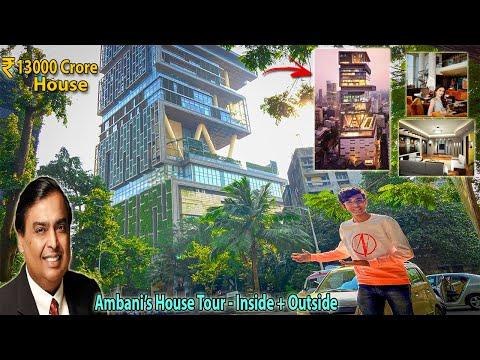 "Mukesh Ambani's House ""Antilia"" - Tour | Worlds Most Expensive🤑 & Luxurious House😍"