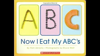 "Quarantined Books for Babies - ""Now I Eat My ABC's""  (April 4)"