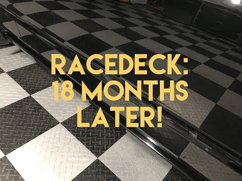 Racedeck Floor - 18 Months Later!
