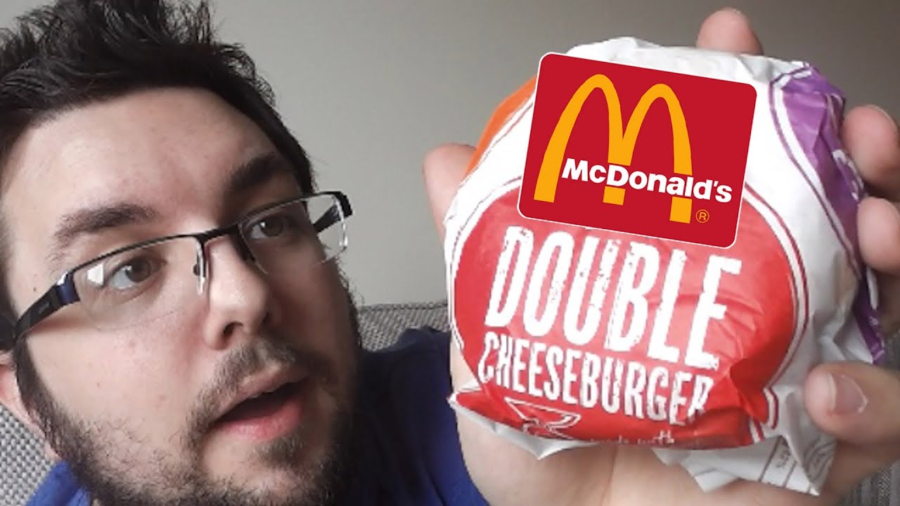 McDonalds Double Cheeseburger Review