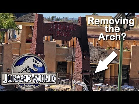 Harms - Here's an Update on the New Jurassic World Ride at Universal
