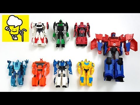 Transformers Robots in Disguise One Step Changers Optimus Prime Bumblebee Sideswipe トランスフォーマー 變形金剛