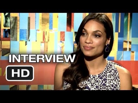 Trance Interview - Rosario Dawson (2013) - James McAvoy Movie HD