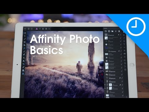 25+ Affinity Photo for iPad beginner's tips!