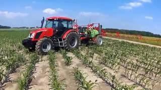 Opryski kukurydziane 2016 Zetor i Krukowiak #HD#