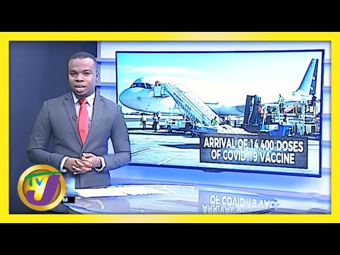 Additional 14,000 Doses of Covid-19 Vaccine Arrives in Jamaica   TVJ News