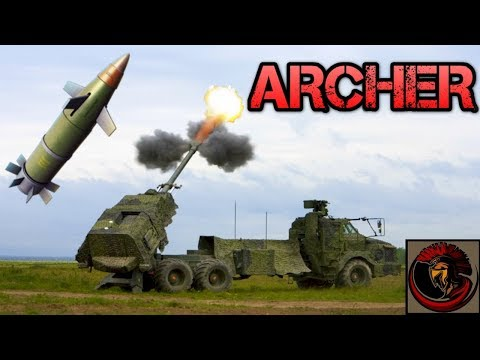 Archer FH77 Self-Propelled 155mm Howitzer