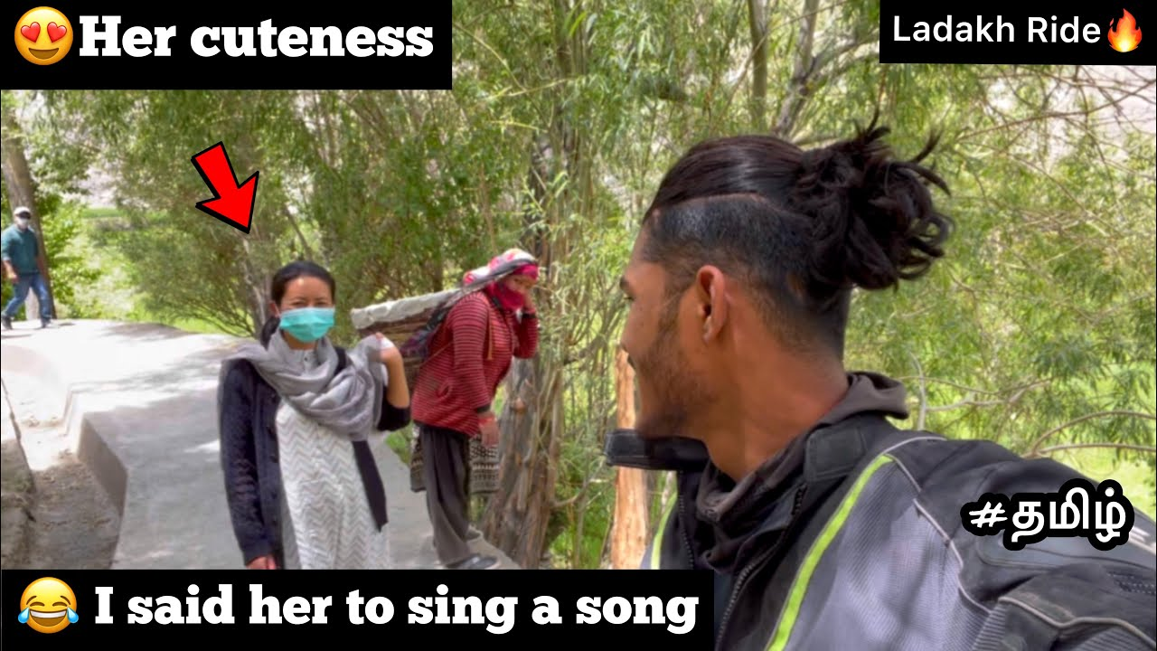 😂 I said her to sing a song | Episode - 27 |😍Her cuteness made my day | Ladakh Ride🔥 | tamil |TTF