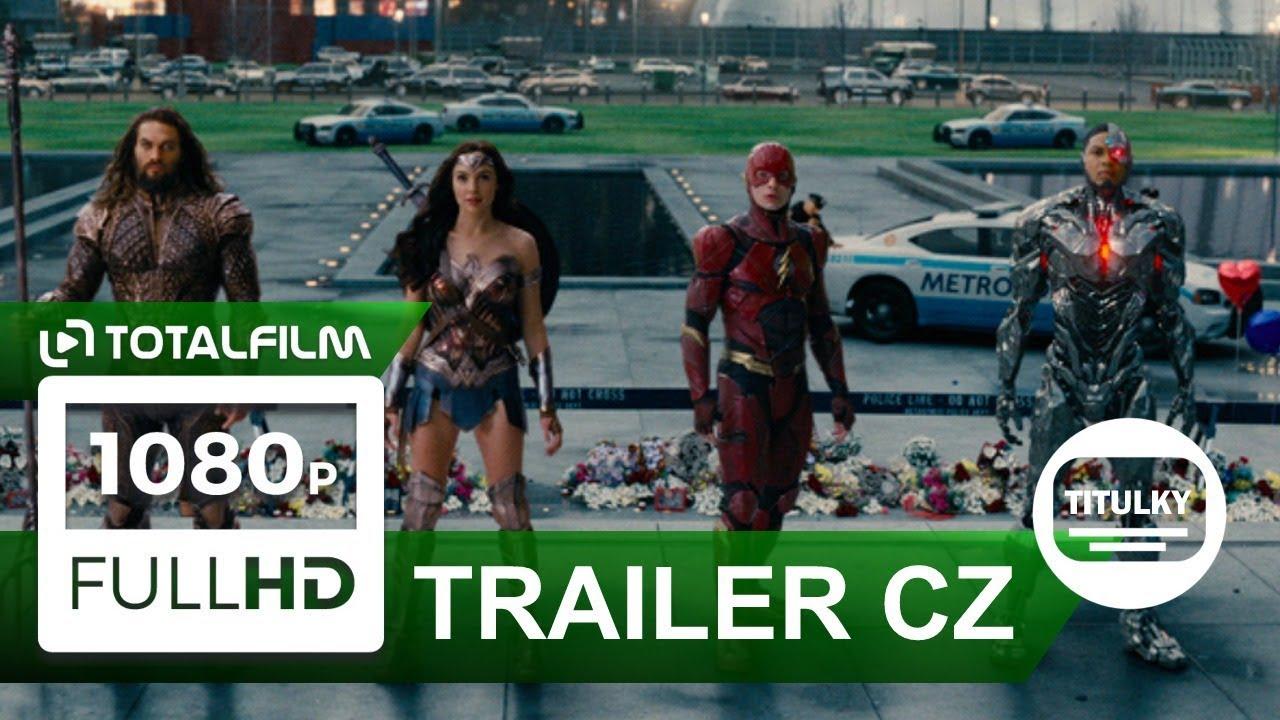 Liga spravedlnosti / Justice League (2017) CZ HD finální trailer