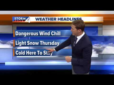 Wind Chill Advisory remains in effect Tuesday
