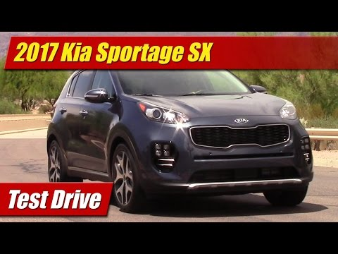 2017 Kia Sportage SX: Test Drive