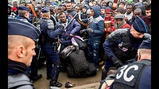 More Illegal Immigrants Swarm France - 300,000 Evicted Near Eiffel Tower