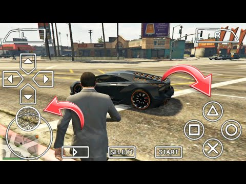 GTA 5 For Android Download + Gameplay On 2GB Ram | (Real GTA V Mobile)