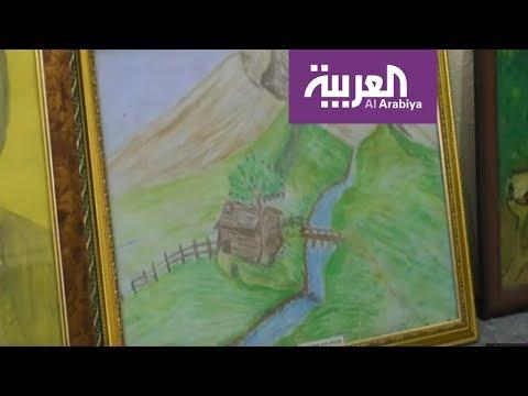 أراس فنان عراقي سرقت الألغام ذراعيه لكنه لم يتخل عن الفن  - 08:53-2019 / 6 / 19