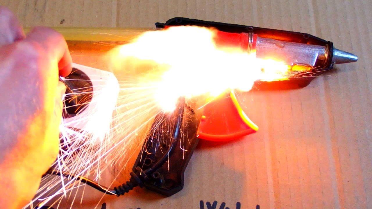 Exploding Hot Melt Glue Gun Youtube