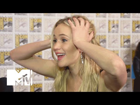 Jennifer Lawrence Says Goodbye To 'Hunger Games' & Her Co-Stars | Comic-Con 2015