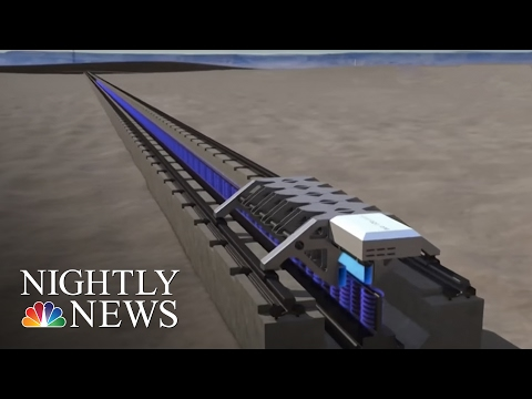 Elon Musk's 'Hyperloop One' Successfully Tests Propulsion System | NBC Nightly News