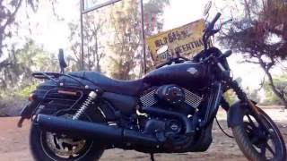Bangalore-Rameshwaram/ Dhanuskodhi, India, Solo Bike Ride on my Harley Street 750