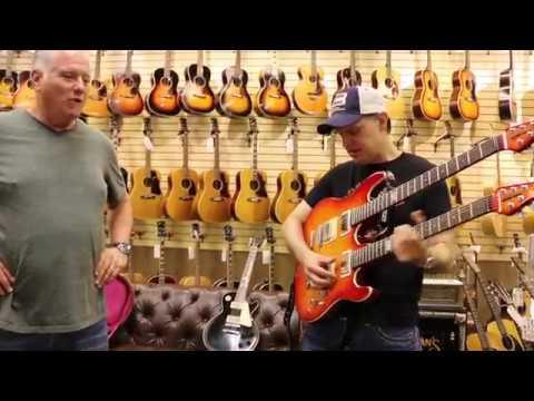 Joe Bonamassa trades 2 of his guitars here at Norman's Rare Guitars