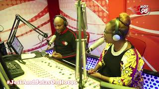 Jalango and Kalekye on Hot 96