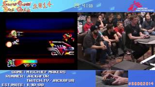 Summer Games Done Quick 2014 - Part 86 - Mischief Makers