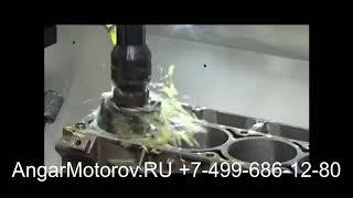 Ремонт Блока Цилиндров Двигателя Audi A3 1.6 TDI Шлифовка Расточка Опрессовка Сварка Гильзовка