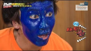[HOT CLIPS] [RUNNINGMAN] [EP 462-2] | Why KwangSoo changed to Blue Monster?(ENG SUB)
