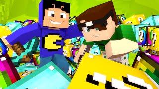 Minecraft Mod: TODOS LUCKY BLOCKS EM UM SÓ! (Lucky Block Mod)