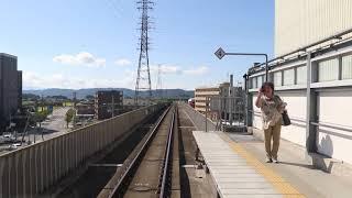 【小海線後方展望】HIGH RAIL 1375 車窓 小海線観光列車 HIGH RAIL 2号車内放送 小諸駅~佐久平駅~岩村田駅~中込駅