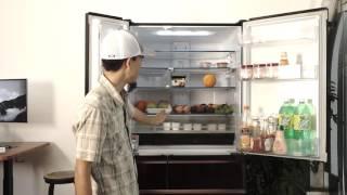 Tinhte.vn   Trên tay tủ lạnh Mitsubishi WX71: lịch lãm và thông minh