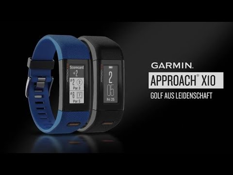 Garmins neues gps golfarmband approach x10 u203a pocketnavigation.de