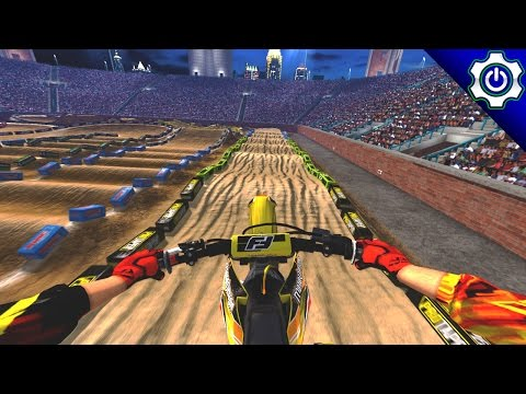 MX vs ATV Supercross Encore - Las Vegas SX Gameplay