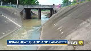 Lafayette Ranks Amongst Top Cities Impacted By Urban Heat Island