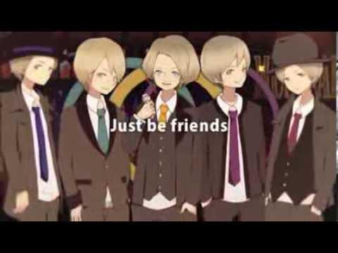【Kony・Clear・Nero・Rib・Yuuto】Just be Friends -Jazz Funk Arrangement-【English Subtitles】