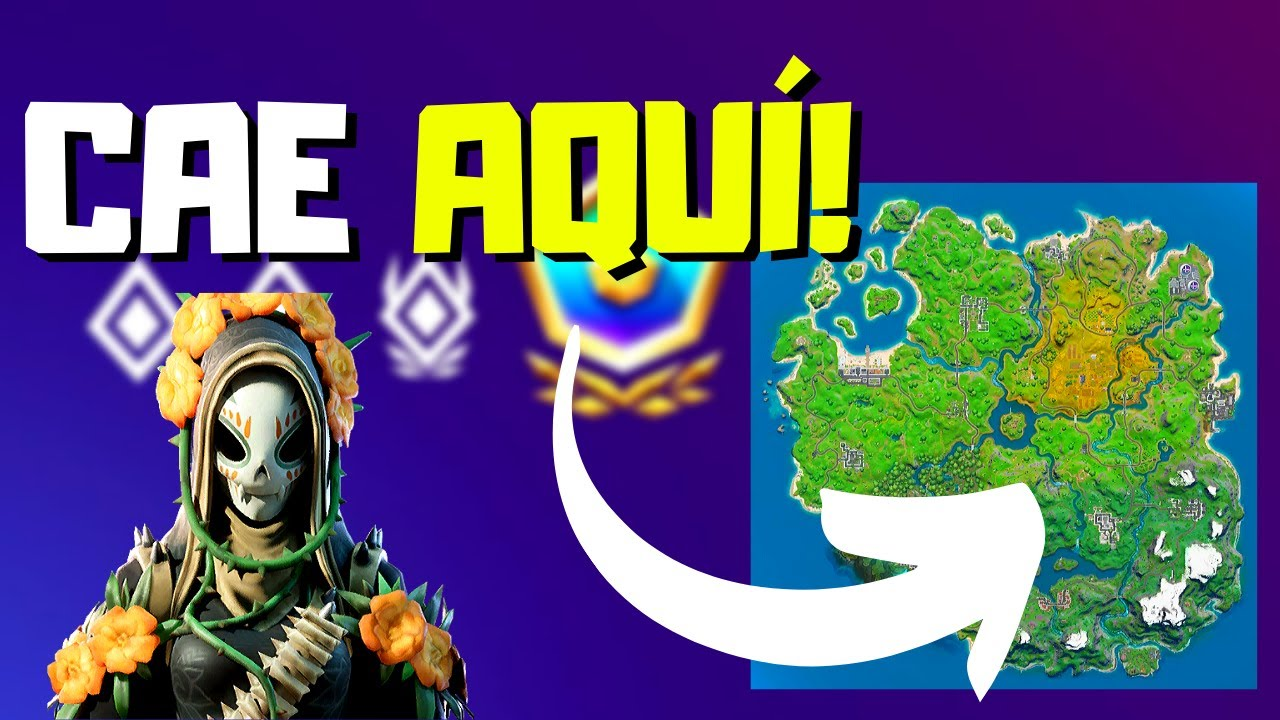 5 Mejores Lugares Para Caer En Arena Fortnite Capitulo 2 Temporada 1 Tips Xbox Ps4 Youtube