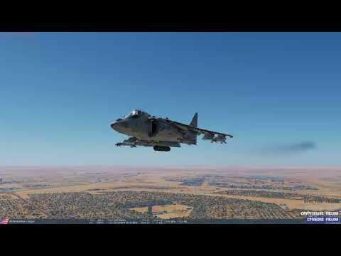 DCS World - 2.5.2 - Persian Gulf - First look and test Harrier Mav E