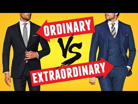 Suit Up  - Tips To Take Your Suit Style From Ordinary To Extraordinary