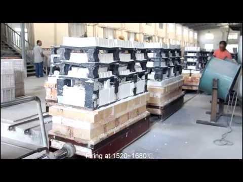 High Alumina Ceramic Wear Resistant Lining Tile