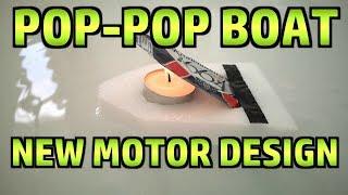A New Design of Pop Pop Putt Putt Boat Motor